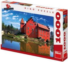 Puzzle Zámek Červená Lhota 66x47cm 1000 dílků