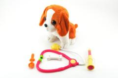 Pes nemocný interaktivní plyš 22cm