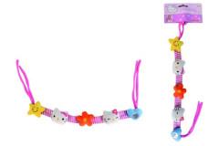 Hello Kitty Řetízek na kočárek/autosedačku 40cm, látkový