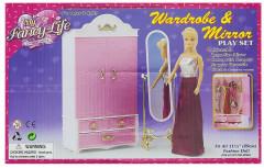 Glorie Skříň a zrcadlo pro panenky