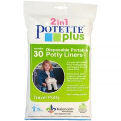 Náhradní náplně do cestovního nočníku Potette Plus 30 ks