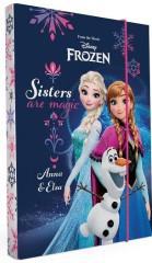 Desky na sešity Heftbox A4 Frozen - Ledové království