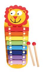 Dřevěný xylofon Lev