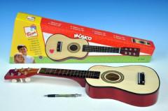 Kytara dřevo 57cm v krabici