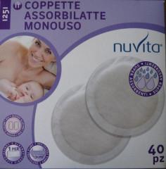 Jednorázové prsní vložky na den Nuvita