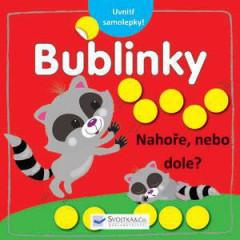 Výtvarná knížka se samolepkami - Nahoře, nebo dole? – Bublinky