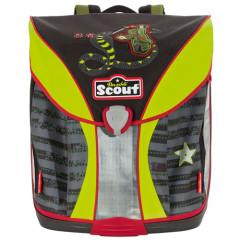 Školní batoh Scout - Ninja a had II.