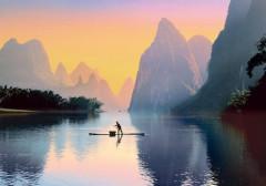 Puzzle Řeka Lijiang 500 dílků