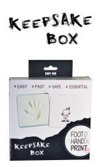 Otisk do samotvrdnoucí hmoty Keepsake box Baby Dab