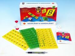 Samohlásky a souhlásky vzdělávací společenská hra Alexander