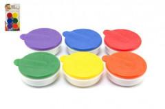 Prstové barvy 6ks x 20ml