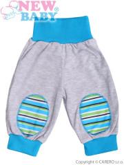 Dětské bavlněné tepláčky New Baby Puppik vel. 74