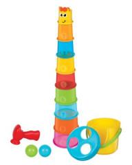 B kids Maxi stohovací kelímky Žirafa