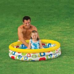 Bazén Geometrie 114x25cm Intex 59419