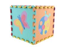 Pěnové puzzle podložka 32cm - zvířátka 10 ks