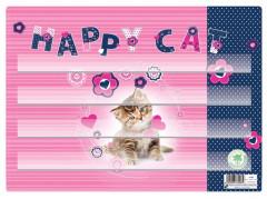 Podložka na sestavování slov Kočka