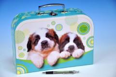 Kufřík Psi šitý