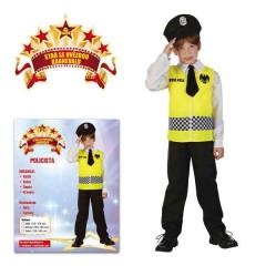 Dětský kostým na karneval Policie 120 - 130 cm