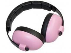 Baby Banz - Ochrana sluchu dětská růžová Baby 3m+