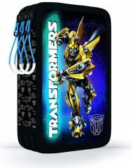 Penál 3patrový bez náplně Transformers černo-modrý NEW 2017