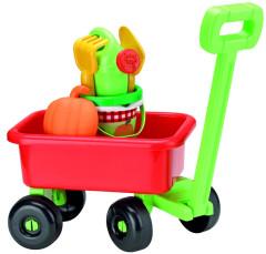 Retro vozík s konvičkou a příslušenstvím