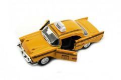 Auto taxi kov 12cm na baterie se světlem a zvukem
