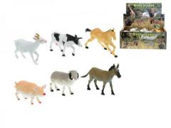 Zvířátka farma 14-17cm asst 6 druhů