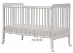Dětská postýlka Scarlett Alexandra - bílá buk 140 x 70 cm