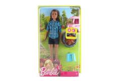 Barbie Panenka u táboráku černovláska FDB43