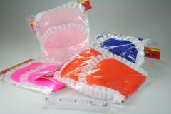 Peřinka + polštář do postýlky či kolébky pro panenky barevná s kanýrkem