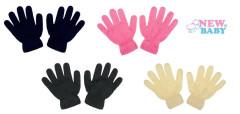 Dětské zimní rukavičky prstové New Baby