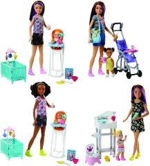 Barbie chůva herní set