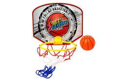 Basketbalový koš na doma s nafukovacím míčem