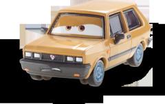 Cars2 auta W1938 Mattel VICTOR H.