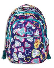 Studentský batoh 2v1 ANNA Hearts Emipo