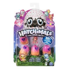 Hatchimals sběratelská zvířátka ve vajíčku čtyřbalení s bonusem serie 4.