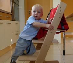 Samostatný stupínek k židličkám Jitro