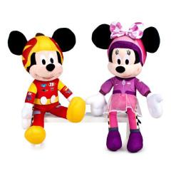Mickey Mouse & Minnie plyšoví 40cm