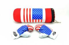 Boxovací pytel + rukavice v síťce