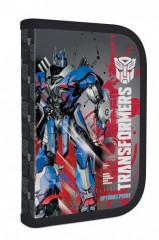 Jednopatrový penál plný Transformers MODRO-ČERVENÝ