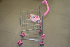 Nákupní vozík kovový