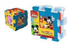 Pěnové puzzle Mickey 32x32x1cm 8ks