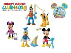 Figurky Mickeyho klubík kloubové 5ks s doplňky