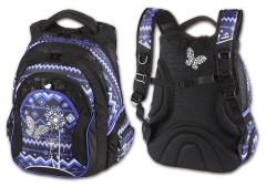 Studentský batoh Paradise modrá Walker