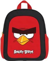 Dětský předškolní batoh ANGRY BIRDS černo-červený
