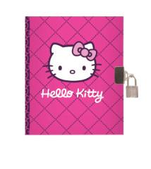 Diář A5 se zámečkem Hello Kitty