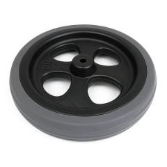 Náhradní gumové kolečko k odrážedlu Funny Wheels šedé