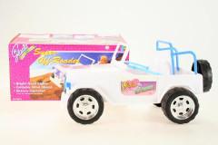 Glorie Auto sportovní velké pro panenky