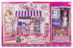 Obchod s cukrárnou a panenkou
