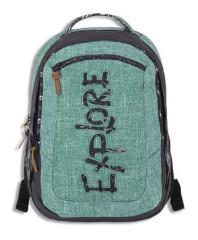 Studentský batoh CLASSIC VIKI green